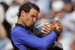 Nadal vyhral French Open po desiatykrát.