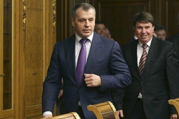 Vladimir Konstantinov, šéf proruského krymského parlamentu.
