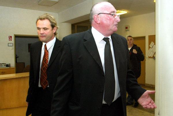 P. Čupka na súde v roku 2008.