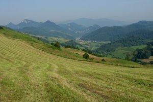 Dolina Lesnice a centrálne Pieniny.