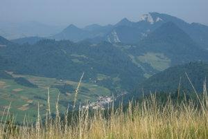 Centrálna časť Pienin s Tromi Korunami.