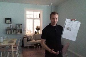 Ako sa fotí katalóg: toto je byt švédskych tridsiatnikov s dieťaťom.
