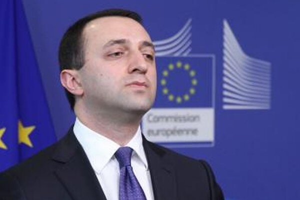 Gruzínsky premiér Irakli Garibašvili.