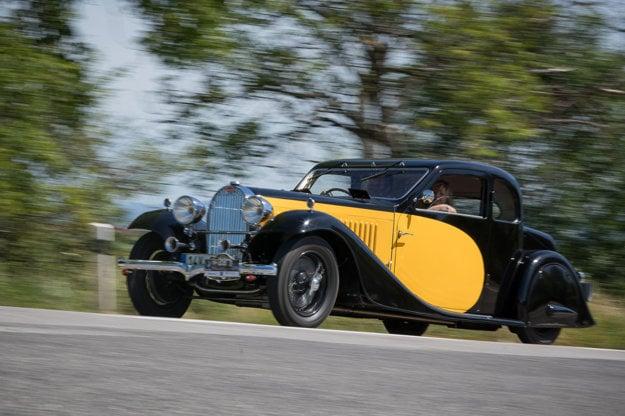 Bugatti 57 Ventoux z roku 1934.
