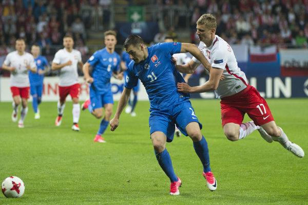 Futbalisti Poľska zápas so Slovákmi nezvládli.