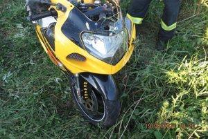 Motocyklista bol na mieste mŕtvy.