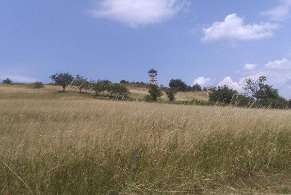 Výhliadková veža v Hrušove.
