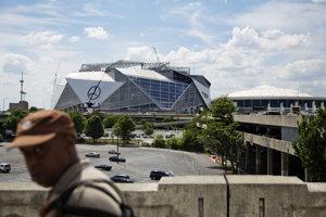 Nový supermoderný štadión Atlanty Falcons bude hotový už v lete tohto roku.