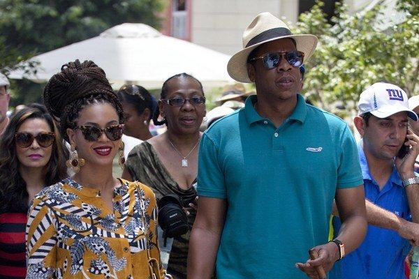 Beyoncé a Jay-Z napriek embargu navštívili Kubu.