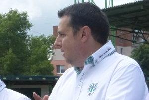 Predseda predstavenstva MFK Skalica Peter Bartoš
