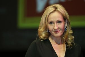 Britská spisovateľka Joanne K. Rowlingová.