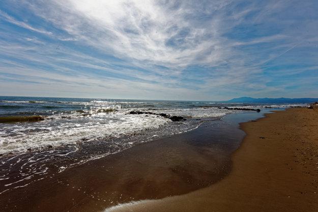 Pobrežie pri Marbelle, Costa del Sol.