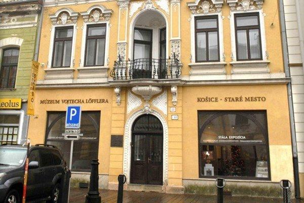 Múzeum Vojtecha Löfflera v Košiciach.
