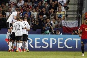 Nemecko je na čele rebríčka FIFA.