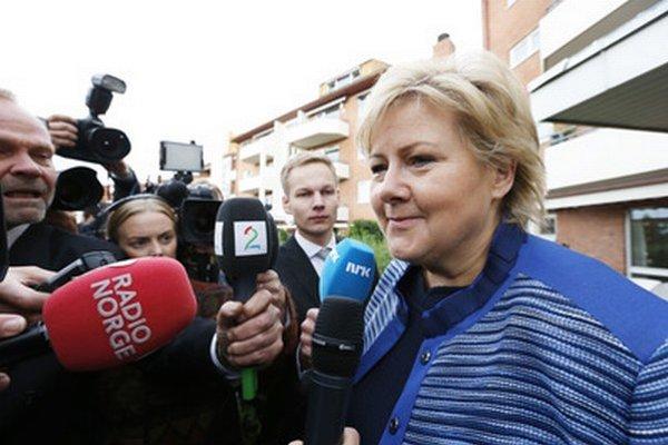 Erna Solbergová.