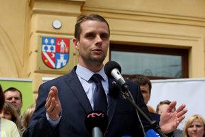Poslanec SaS Martin Klus.