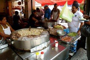 Mexické jedlo je veľmi pikantné.