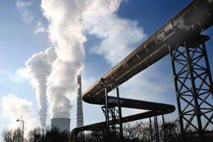 Uhoľná elektráreň v Novákoch.
