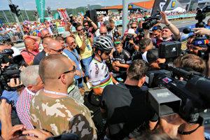 O Petra Sagana je záujem vždy a všade. Tour bez neho bude istotne nudnejšia.