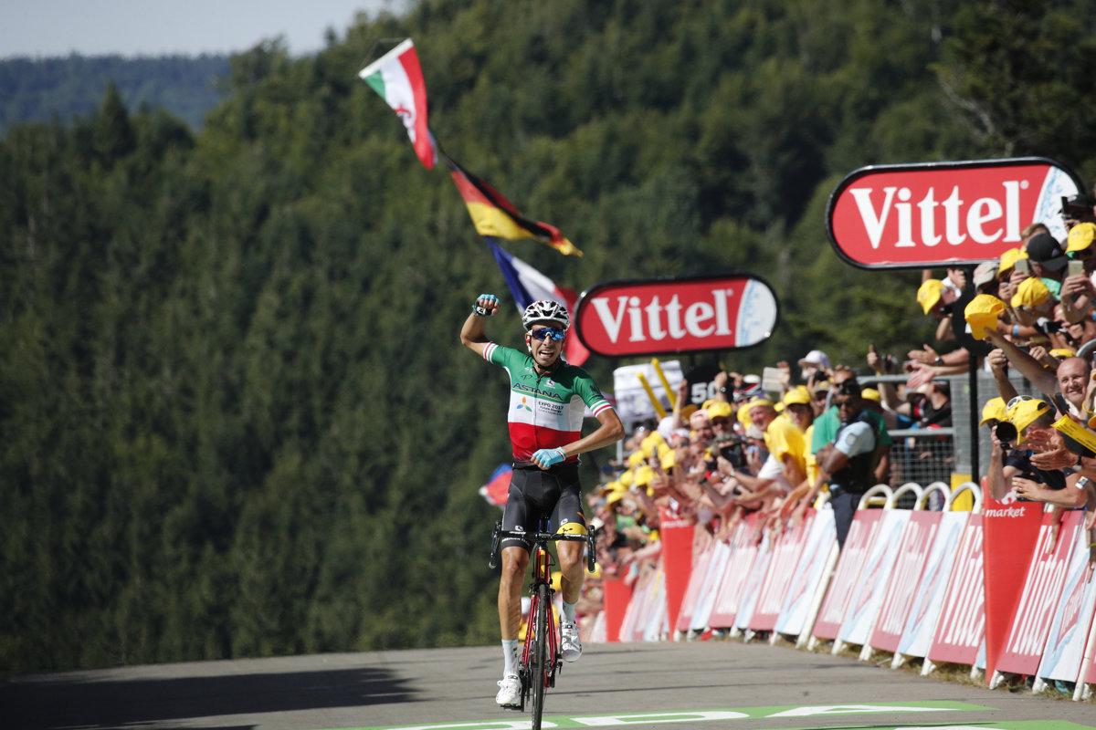 f326d1ba7620d Fabio Aru sa stal víťazom piatej etapy na Tour de France 2017.