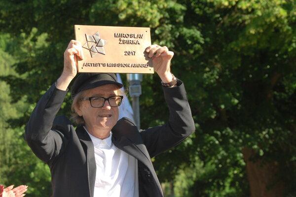 Miroslav Žbirka, prvý spevák, ktorý dostal cenu Umelcova misia