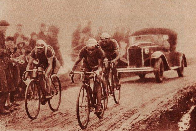 Slávna Tour de France v medzivojnovom období.