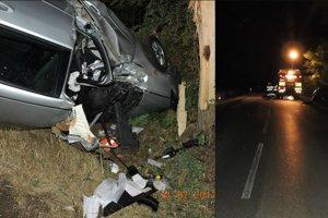 Tragická nehoda pred Nesvadmi.