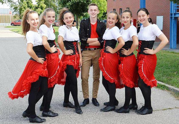 Zlato majú aj námestovskí tanečníci zkategórie juniorov.
