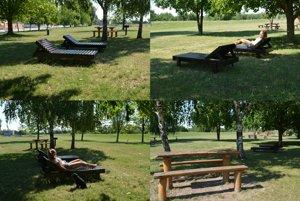 Letný relax na ležadlách