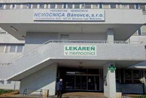 Nemocnica v Bánovciach.