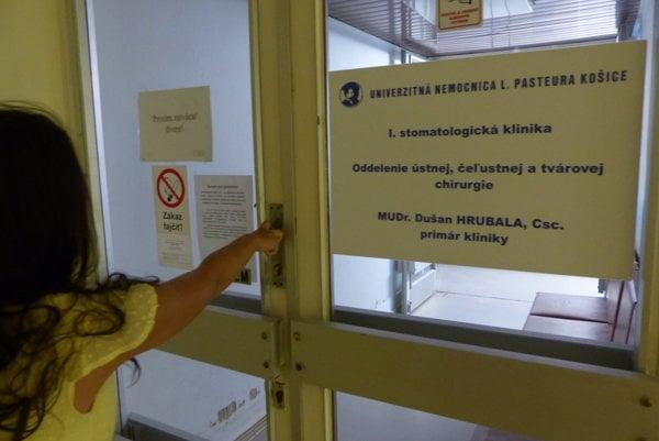 Lôžkové oddelenie je zatvorené. Pacienti sa tam nedostanú.