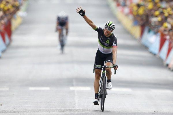Radosť Edvalda Boassona Hagena z víťazstva.