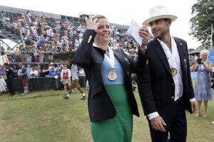Kim Clijstersovú a Andyho Roddicka uviedli do Siene slávy.
