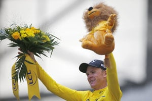 Christopher Froome vyhral Tour de France štvrtý raz v kariére.