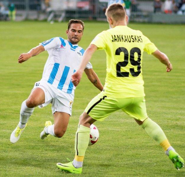 Navrátilec Tomáš Kóňa vymyslel prihrávku na jediný gól Balaja.