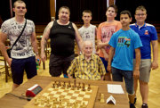 Topoľčianski šachisti.