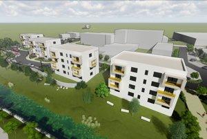 Ak to poslanci schvália, mohlo by pri ZŠ Robotnícka vyrásť až šesť bytoviek.