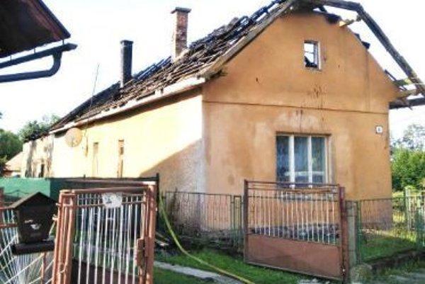 Po požiari v Jalovci.