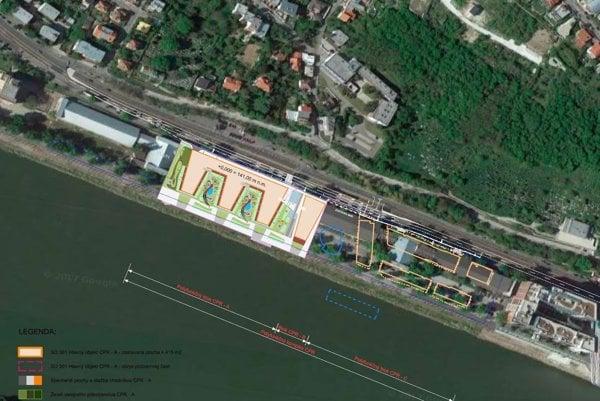 Na Dvořákovom nábreží majú pribudnúť byty, planetárium a River Park II.