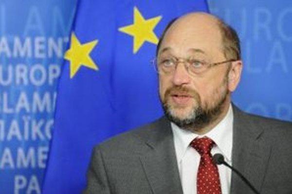 Predseda Európskeho parlamentu Martin Schulz.