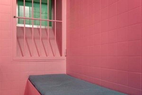Ružová cela väzňov neupokojila.