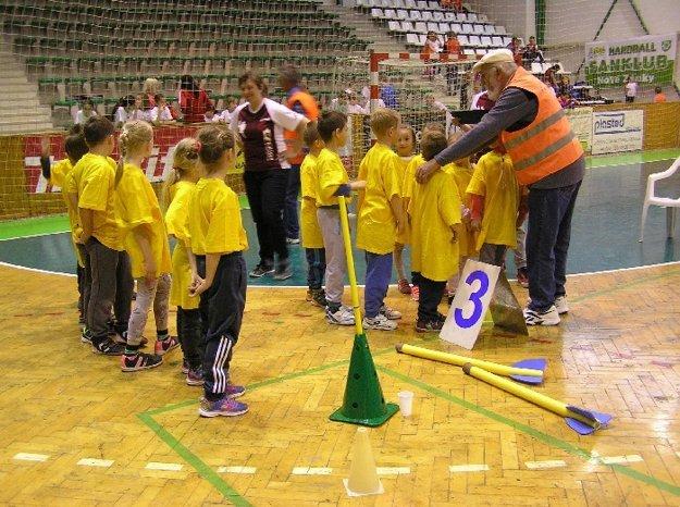 Prvé kolo Novozámockej Detskej Olympiády sa konalo vŠportovej hale Milénium.