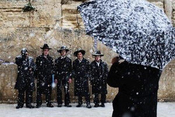 Keď v Izraeli sneží, je to dobré.