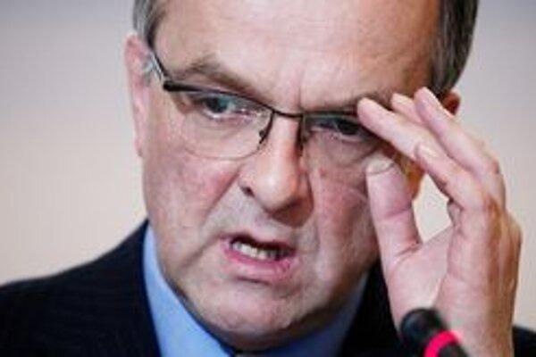 Český minister financií Miroslav Kalousek.