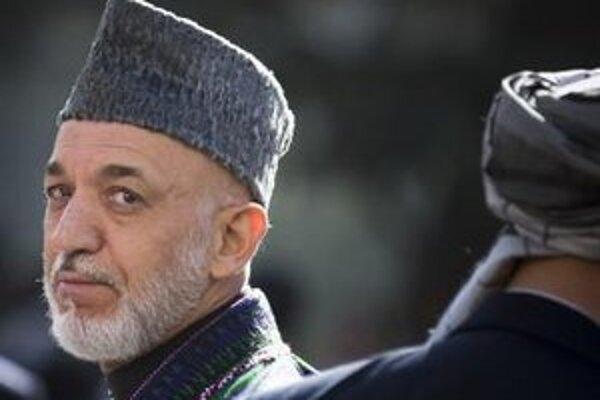 Afganský prezident Hámid Karzaj.
