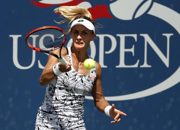 Lesia Curenková čelila Dominike Cibulkovej aj vlani na US Open.