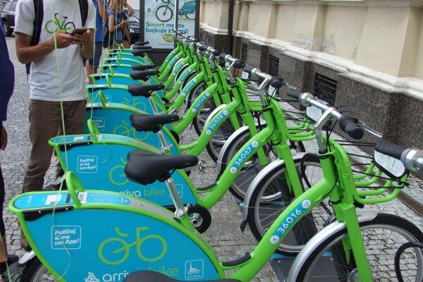Bikesharing funguje aj v Nitre.