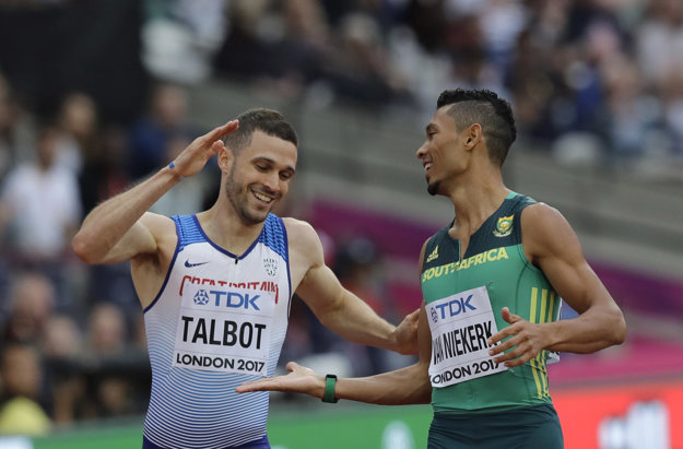 Lepší ako Volko boli v jeho rozbehu len Juhoafričan Wayde van Niekerk a Brit Daniel Talbot .