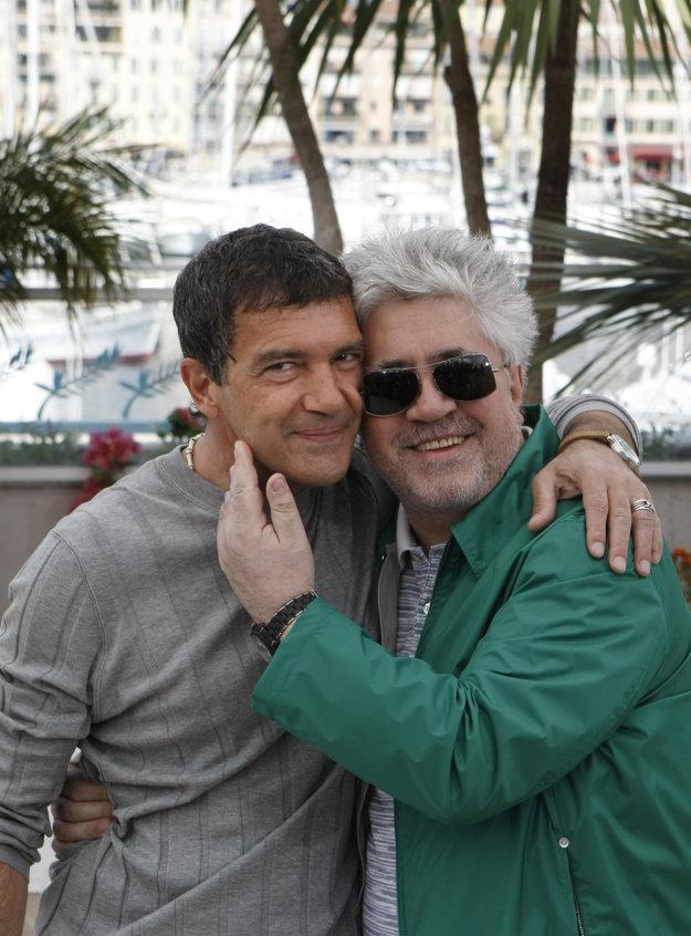 Antonio Banderas s režisérom Pedrom Almodóvarom.
