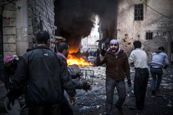 Boje v Aleppe.